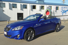 2014 Lexus IS350 Convertible F Sport front view