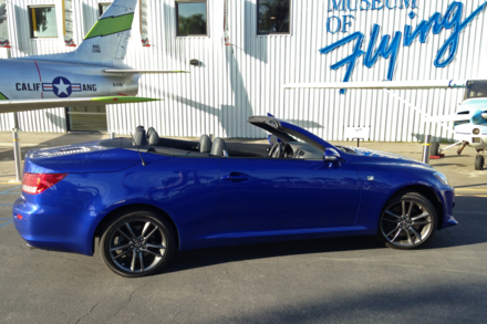2014 Lexus IS350 Convertible F Sport side view