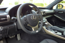 2014 Lexus IS350 F Sport interior