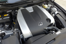 2014 Lexus IS350 F Sport motor