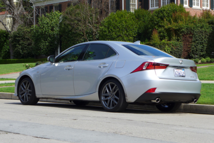 2014 Lexus IS350 F Sport rear view