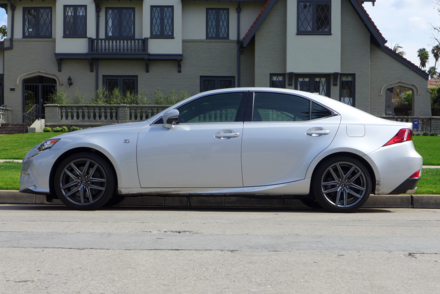 2014 Lexus IS350 F Sport side view