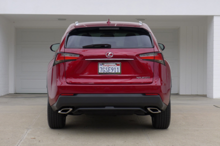 2015 Lexus NX 200t rear view