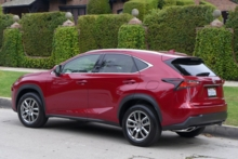 2015 Lexus NX 200t side view