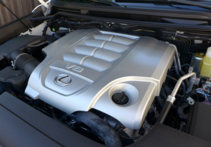 2016 Lexus LX 570 5-Door SUV engine