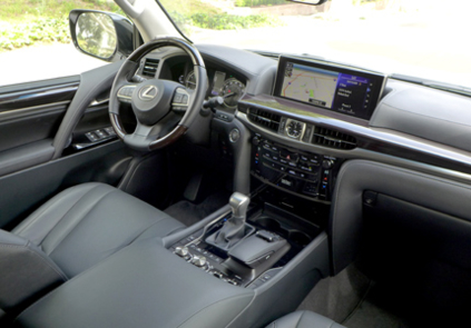 2016 Lexus LX 570 5-Door SUV interior