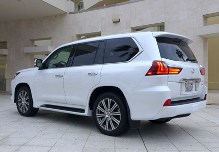 2016 Lexus LX 570 5-Door SUV side view