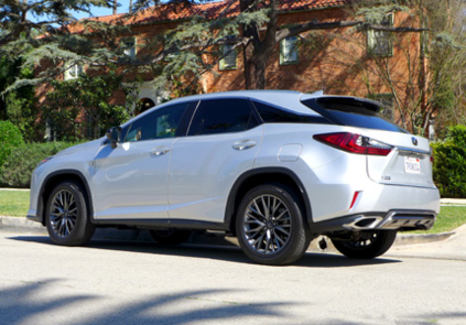 2016 Lexus RX 350 side view