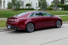 2015 Lincoln MKZ Hybrid Black Label side view