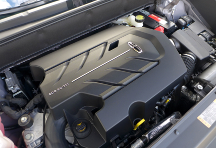 2016 Lincoln MKX Black Label AWD engine