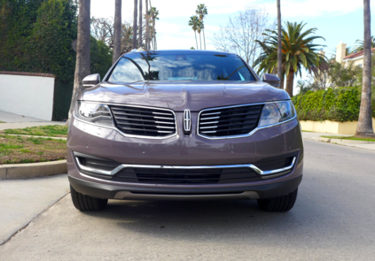 2016 Lincoln MKX Black Label AWD front view