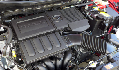 2014 Mazda 2 Touring engine