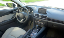 2014 Mazda 3 i 4-Door Touring interior