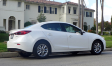 2014 Mazda 3 i 4-Door Touring rear view