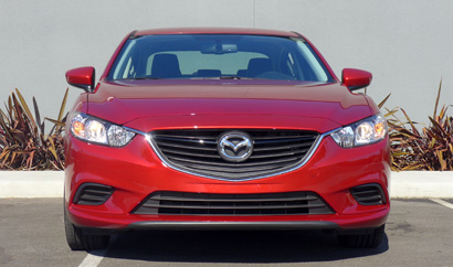 2014 Mazda 6 Touring front view