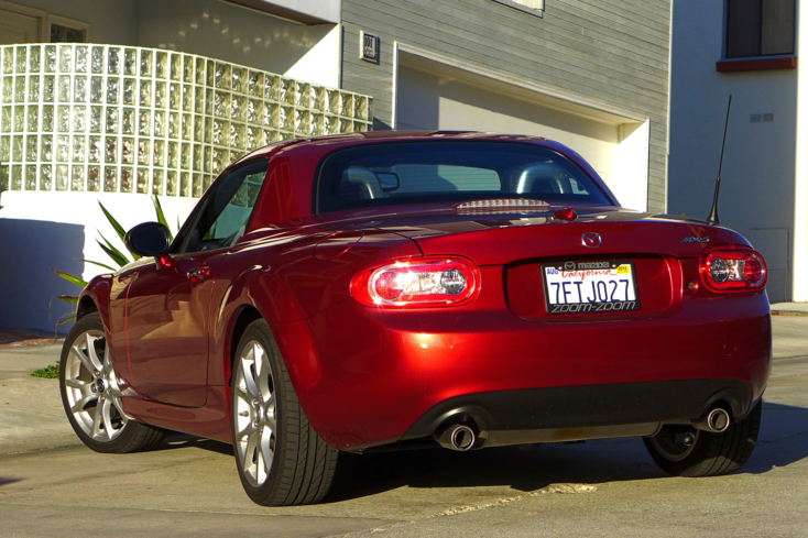 2015 Mazda MX-5 Miata rear view