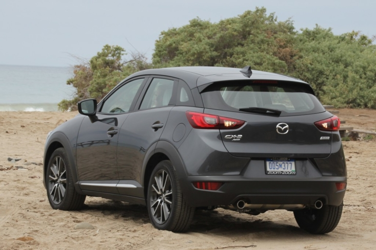 2016 Mazda CX-3 Grand Touring AWD rear view