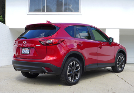 2016 Mazda CX-5 Grand Touring FWD back view