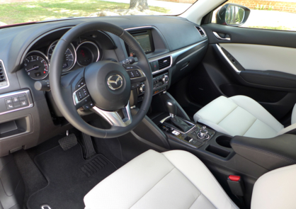 2016 Mazda CX-5 Grand Touring FWD dashboard
