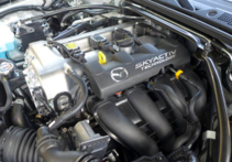 2016 Mazda MX-5 Miata Grand Touring engine