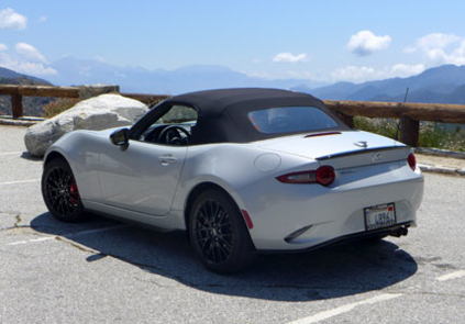 2016 Mazda MX-5 Miata Grand Touring rear view