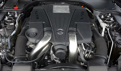 2013 Mercedes-Benz SL550 Roadster engine