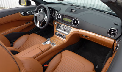2013 Mercedes-Benz SL550 Roadster interior
