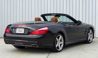 2013 Mercedes-Benz SL550 Roadster rear view