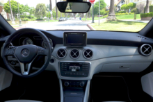 2014 Mercedes-Benz CLA250 4Matic dashboard
