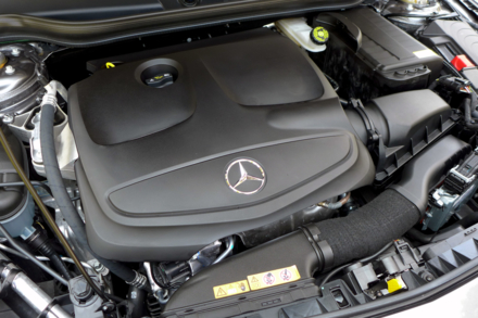 2014 Mercedes-Benz CLA250 4Matic engine