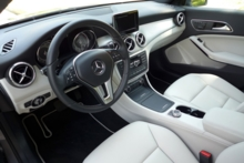 2014 Mercedes-Benz CLA250 4Matic interior