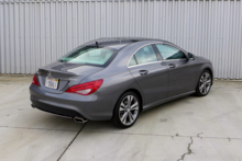 2014 Mercedes-Benz CLA250 4Matic rear view