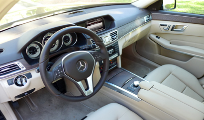 2014 Mercedes-Benz E250 BlueTEC 4MATIC interior