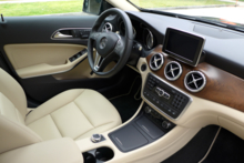 2015 Mercedes-Benz GLA250 4MATIC dashboard