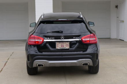 2015 Mercedes-Benz GLA250 4MATIC rear view