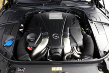 2015 Mercedes-Benz S550 Sedan engine
