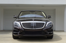 2015 Mercedes-Benz S550 Sedan front view