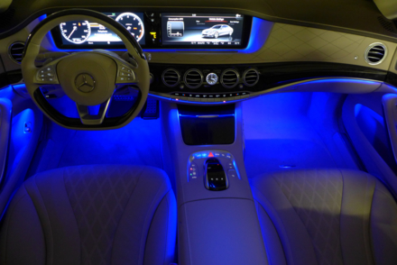 2015 Mercedes-Benz S550 Sedan interior lighting