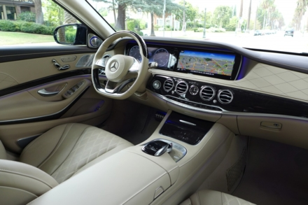 2015 Mercedes-Benz S550 Sedan interior