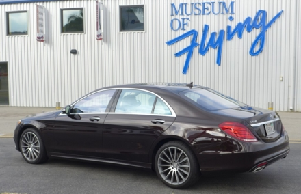 2015 Mercedes-Benz S550 Sedan side view