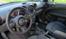 2014 Mini John Cooper Works Countryman interior