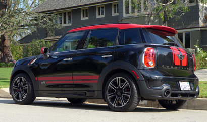 2014 Mini John Cooper Works Countryman side view