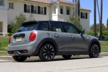 2015 Mini Cooper S Hardtop 4 Door back view