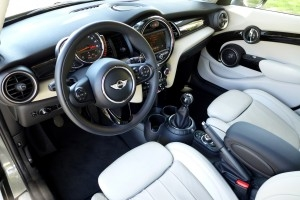 2015 Mini Cooper S Hardtop 4 Door interior