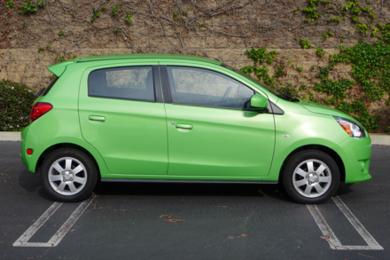 2014 Mitsubishi Mirage side view