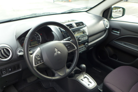 2014 Mitsubishi Mirage steering wheel