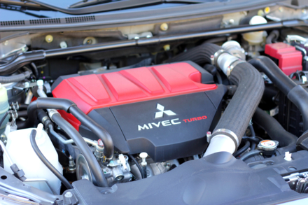 2015 Mitsubishi Lancer Evolution GSR engine