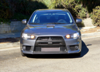 2015 Mitsubishi Lancer Evolution GSR front view
