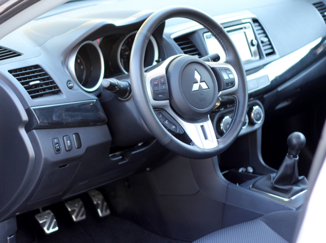 2015 Mitsubishi Lancer Evolution GSR interior