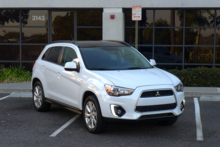 2015 Mitsubishi Outlander Sport front view